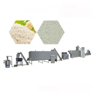Double Screw Extruder Bread Crumb Machine Production Line