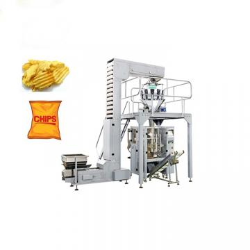 Factory Price Puff Food Crisp Chin Chin Chips Snack French Fries Potato Packing Machine